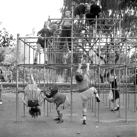 Central Park Playground, 1942