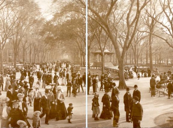 The Mall, circa 1902