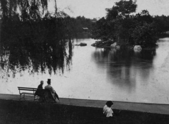 Shoreline of the Lake, 1872
