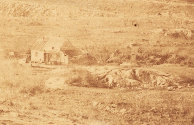 Photo of buildings contemporary to Seneca Village