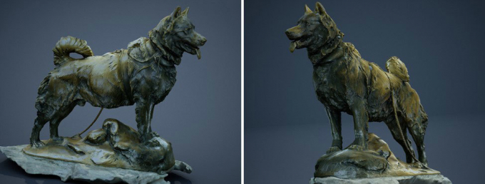 Balto 3D scans