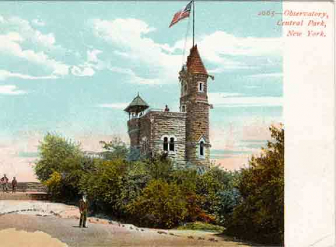 Belvedere postcard, late 1800s