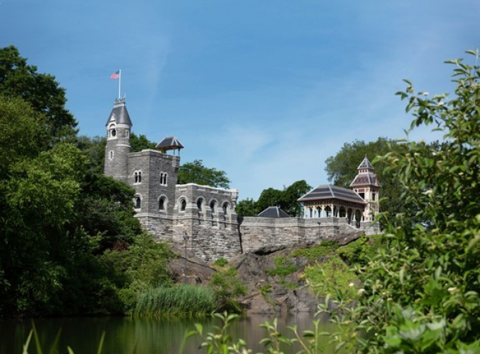 Belvedere Castle, restored