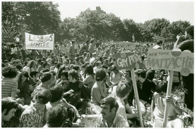 Pride March at Central Park