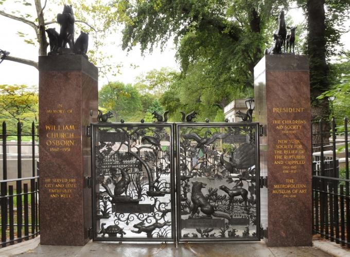 The Osborne Gates at the Ancient Playground