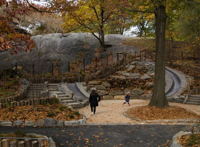 45-foot Granite Slide