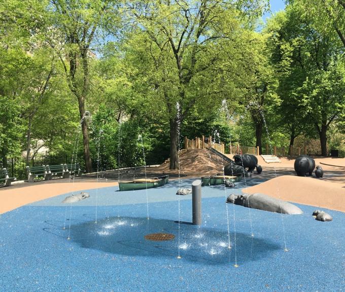 Safari Playground Water Feature