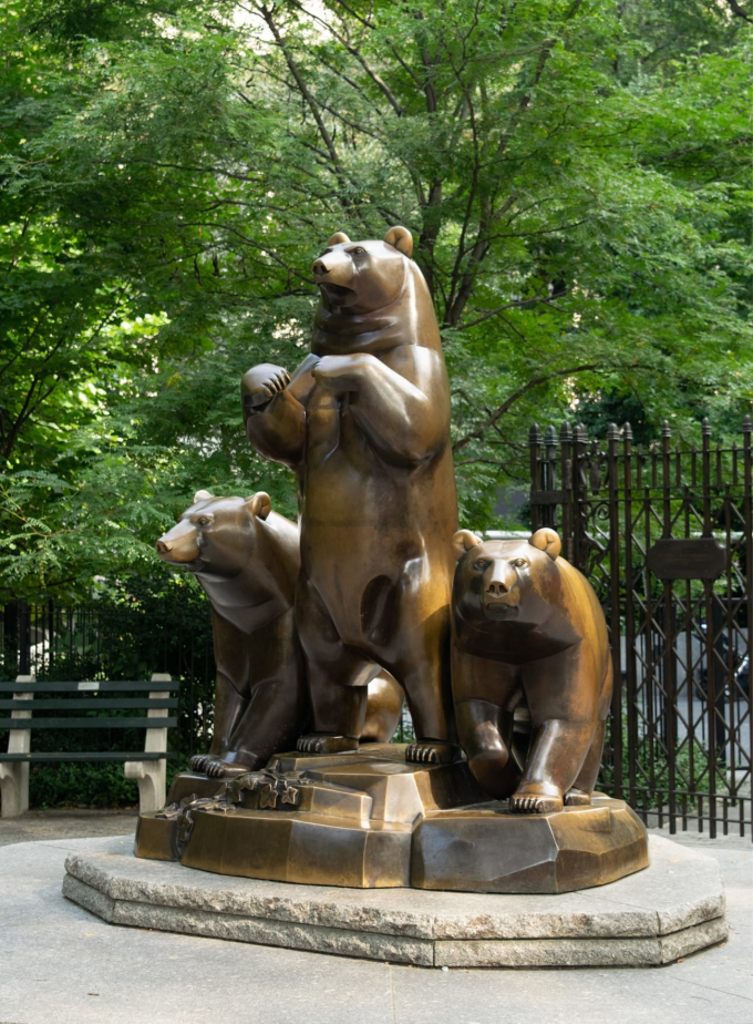 Group of Bears, installed in 1990.