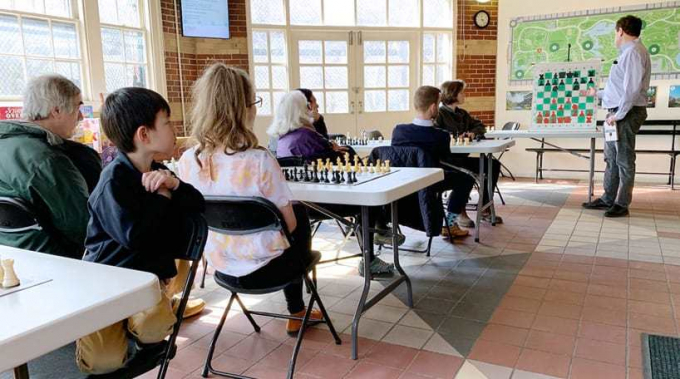 Lesson at Chess & Checkers House