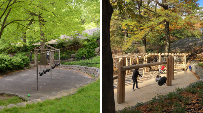 Billy Johnson Playground - Before and After