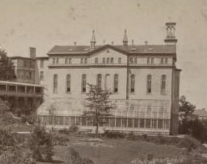 Photo of the convent of Mount St. Vincent