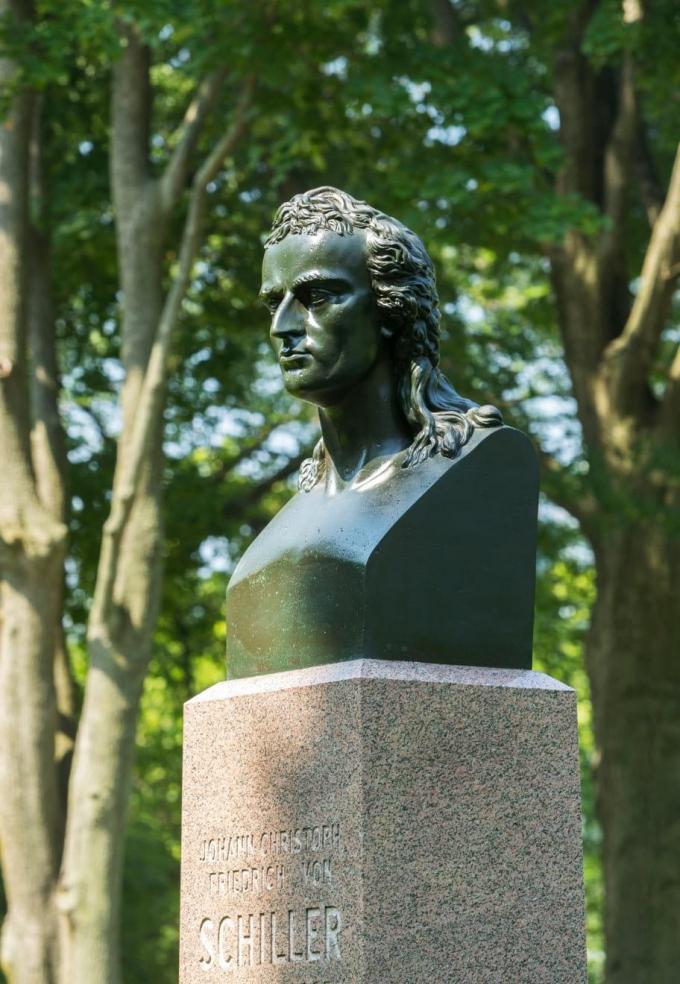 Bust of Johann C.F. von Schiller
