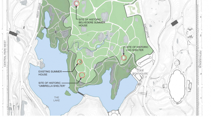 Ramble map