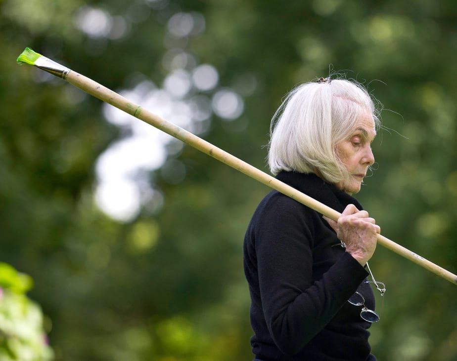 Portrait of the artist Janet Ruttenberg