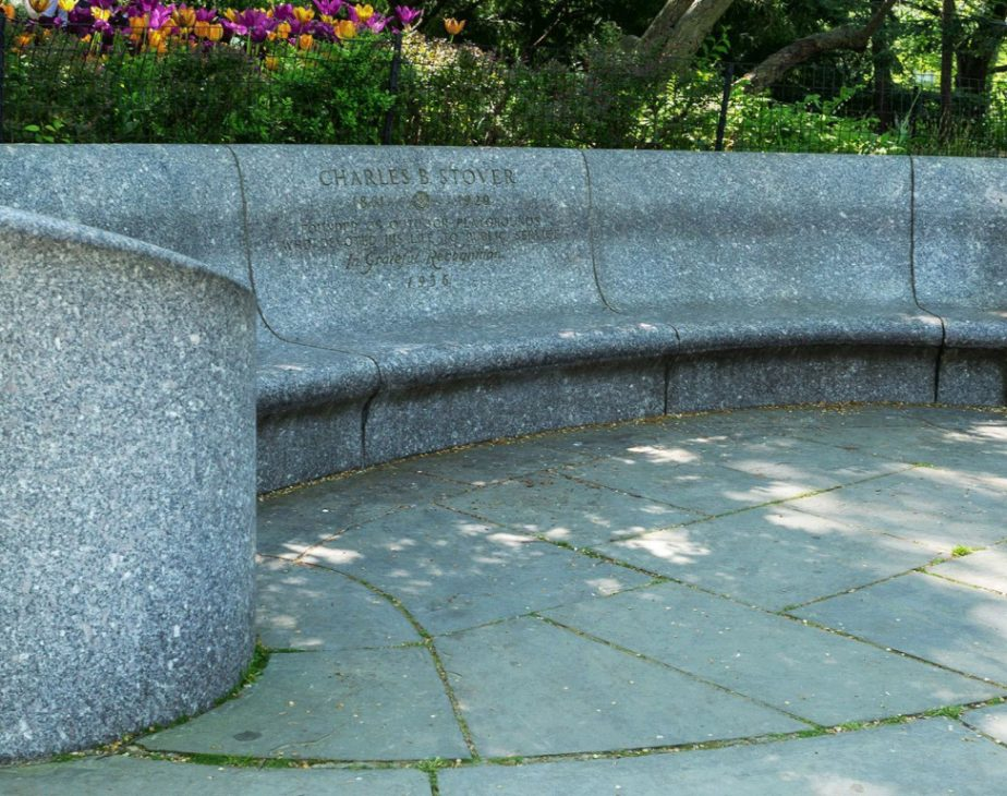 Charles B Stover Bench