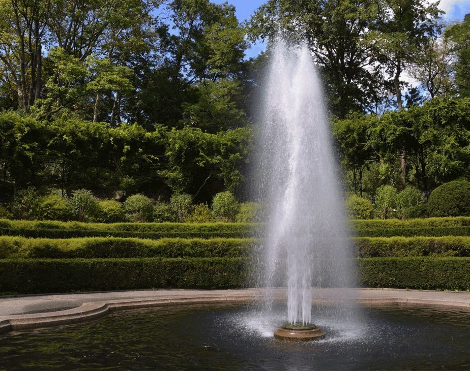 Conservatory Garden Center Fountain