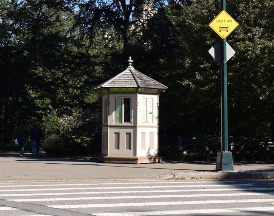 East 72nd Street Kiosk