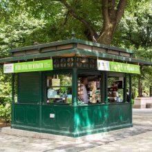Columbus Circle Info Kiosk