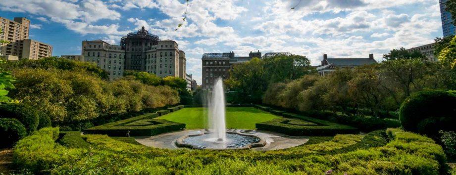 Conservatory Garden Center Fountain