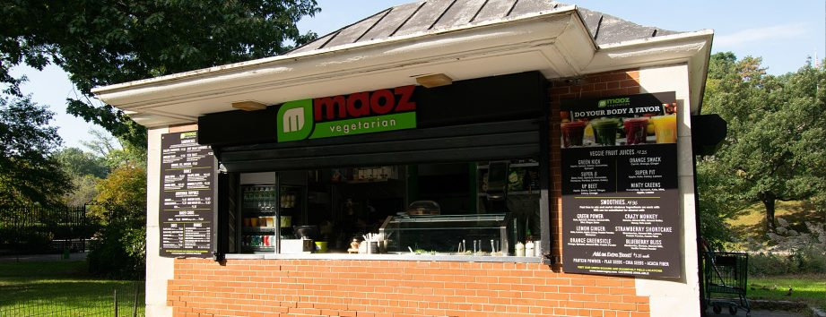 Maoz At The Harlem Meer Snack Shop