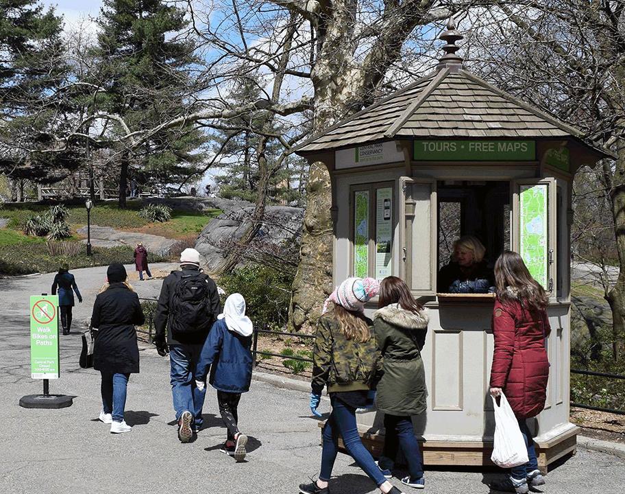 West 59Th Street Kiosk
