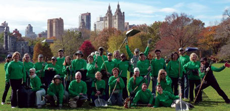 Building & Running a Successful Volunteer Program: Lessons from Central Park Conservancy
