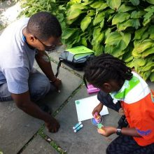 Discovery Walks for Families: Conservatory Garden